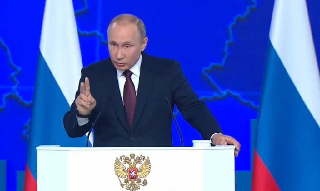 Путин сравнил создание «Авангарда» с запуском первого спутника