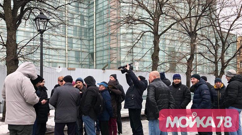 Рабочие «Метростроя» планируют выйти к Смольному 13 марта