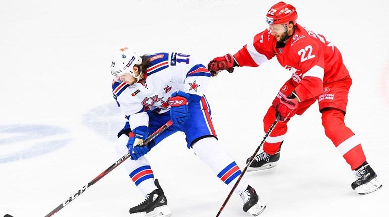 Определился первый соперник СКА в плей-офф КХЛ