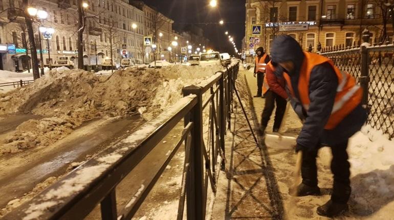Уборка снега в Петербурге. Фото: gov.spb.ru