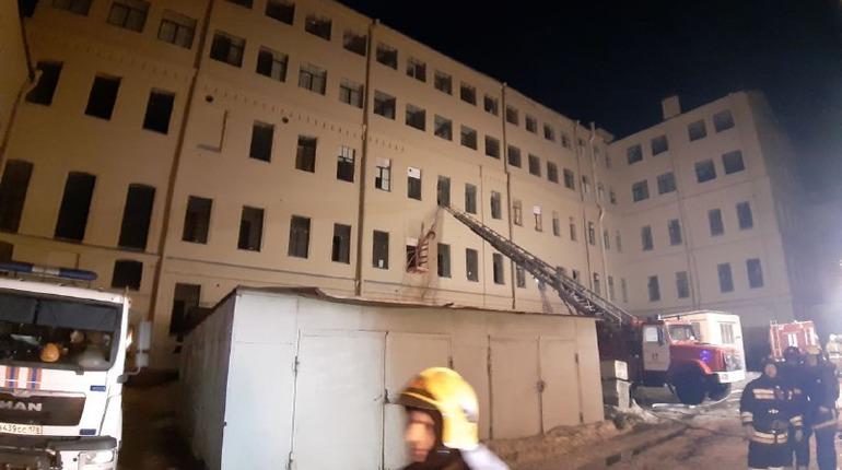 Здание ИТМО, где случилось обрушение. Фото: Мойка78