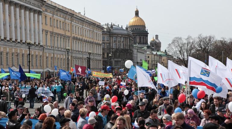В Петербурге подали заявку на шествие по Невскому 1 мая
