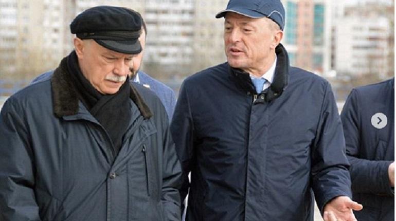 Полтавченко впервые в новой должности посетил Средне-Невский судостроительный завод