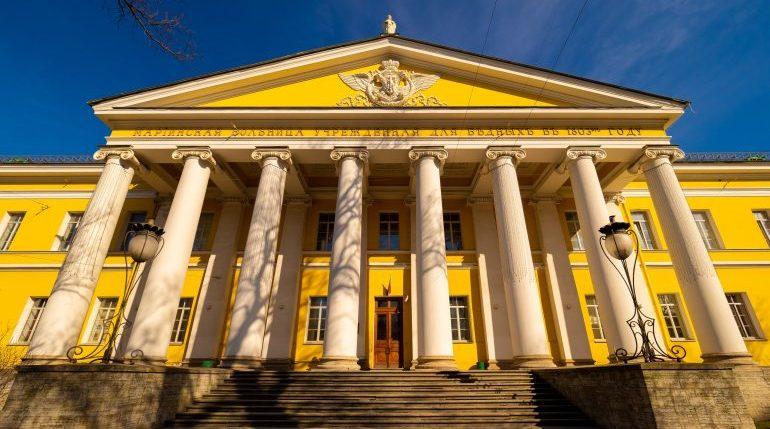 Мариинская больница в Петербурге закрыта из-за коронавируса. Фото: vk.com/Мариинская больница