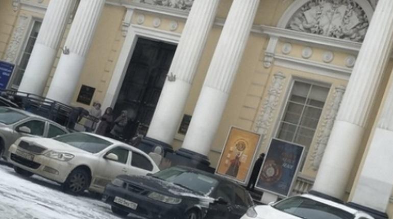 Эвакуация этнографического музея. Фото: группа