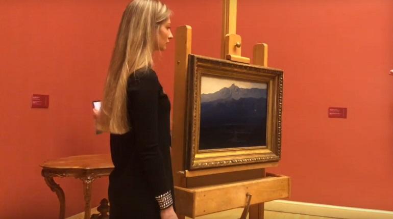 Похищенная картина Куинджи вернулась в Русский музей. Фото: скриншот