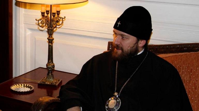 Глава отдела внешних церковных связей РПЦ митрополит Илларион. Википедия