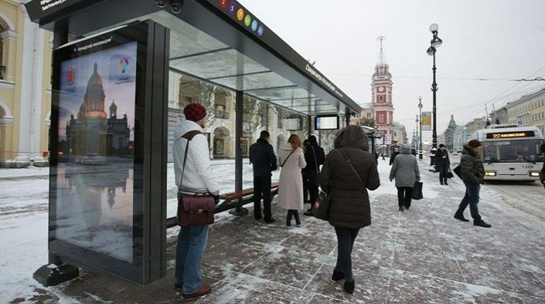 В центре Петербурга остановка перестала быть «умной»