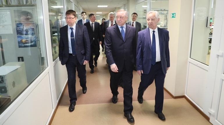 Врио губернатора Петербурга Александр Беглов посетил концерн
