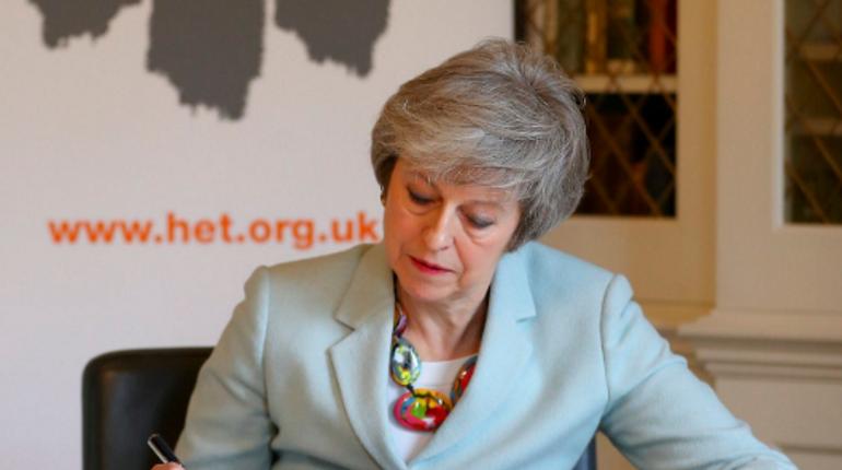 Мэй попросила ЕС подождать с Brexit до конца июня