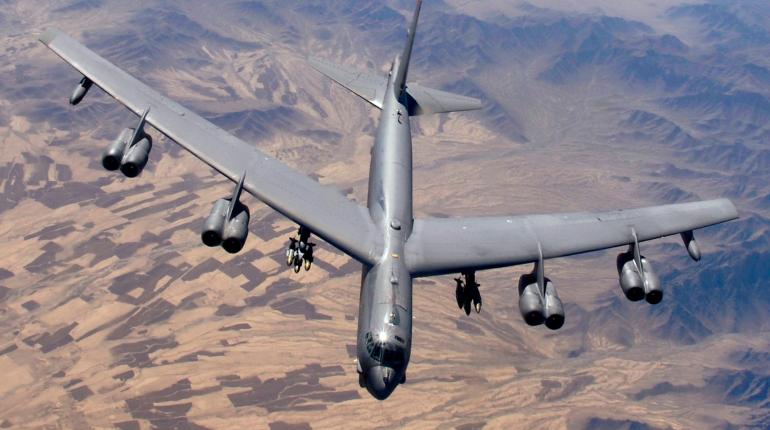 У границ России нашли ядерный бомбардировщик США