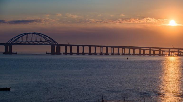 Крымский мост. Фото: инфоцентр «Крымский мост»