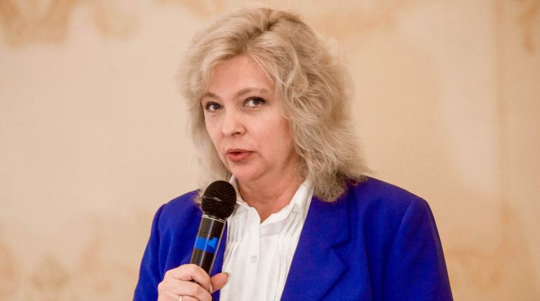 Уполномоченный по правам ребенка в Петербурге Светлана Агапитова. Фото: vk.com