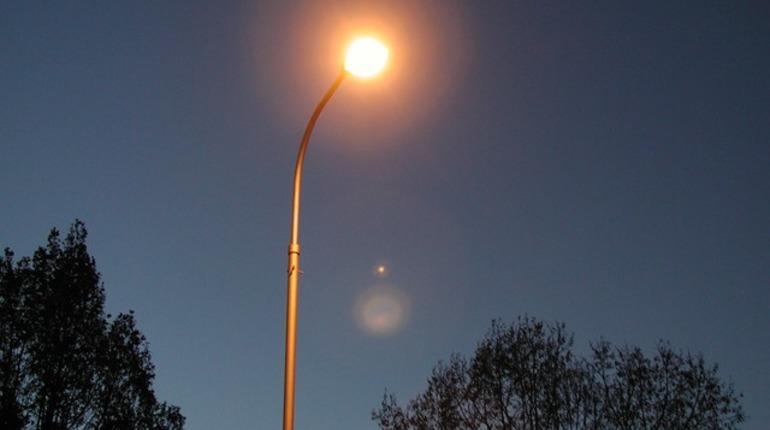 В Выборге поменяют уличное освещение