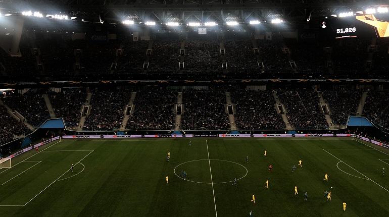 «Вильярреал» забил третий гол «Зениту» на глазах у полсотни болельщиков