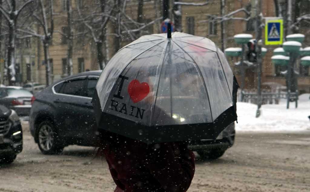 В первый день зимы в Петербурге ожидается мокрый снег и +3 градуса