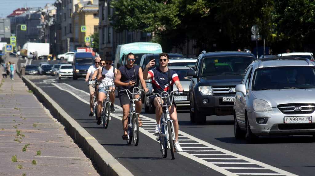 Петербургских велосипедистов пригласят поговорить об инфраструктуре