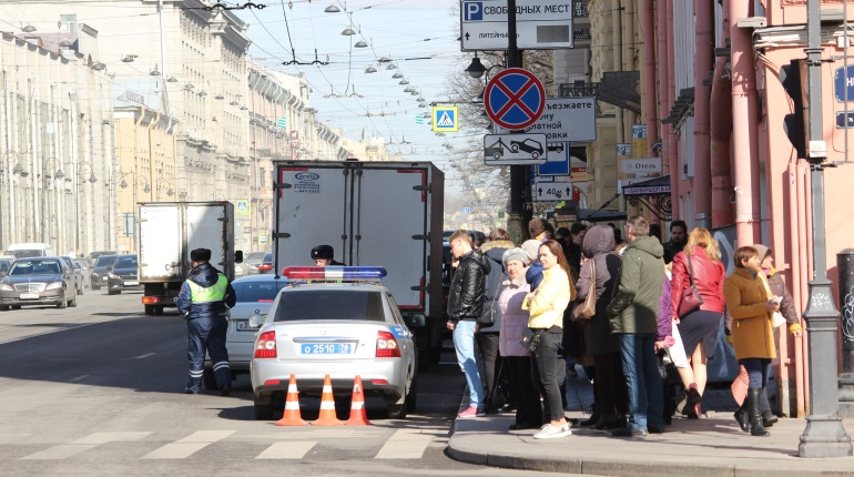 ДТП на Невском. Фото: