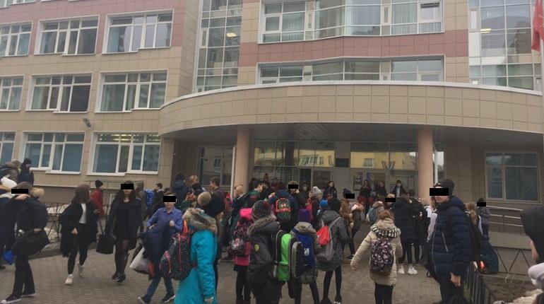 6752b3ec5c8 Эвакуация школы №54. Фото  ДТП и ЧП