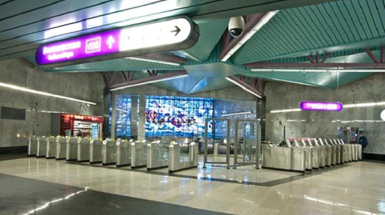 Поезда по фиолетовой ветке не уедут дальше «Волковской»