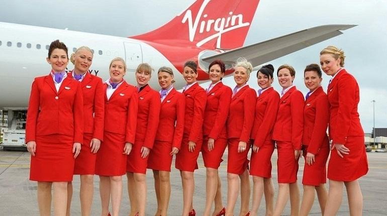 Стюардессы Virgin Atlantic. Фото: Twitter
