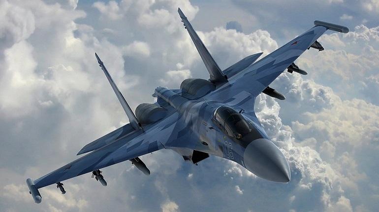 Истребители Су-27 и Су-30 подняли на перехват объектов над Чёрным морем