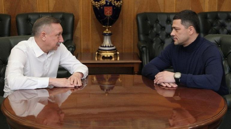 Беглов и Ведерников. Фото: pskov.ru