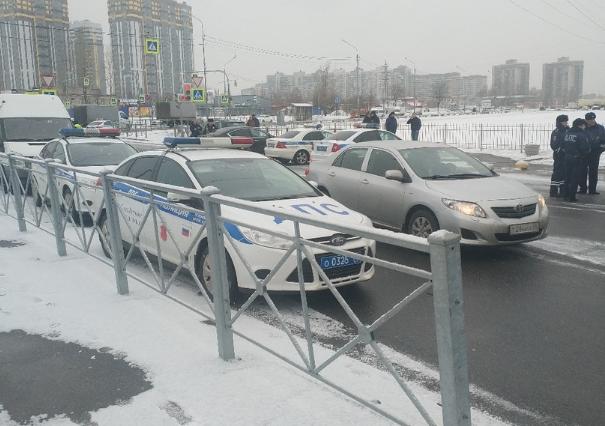 На Софийскую овощебазу нагрянули полицейские. Фото: vk.com/spb_today_unpublished