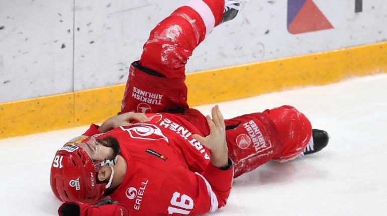 Каспар Даугавиньш не сыграет в серии СКА-