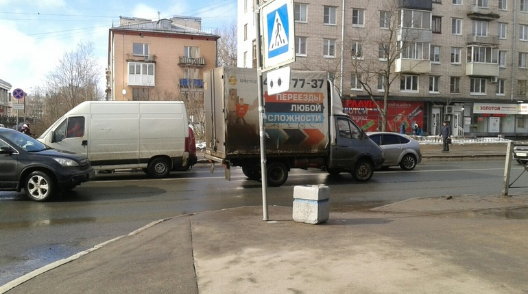 ДТП в Красном Селе. Фото: https://vk.com/krasnoe_selo