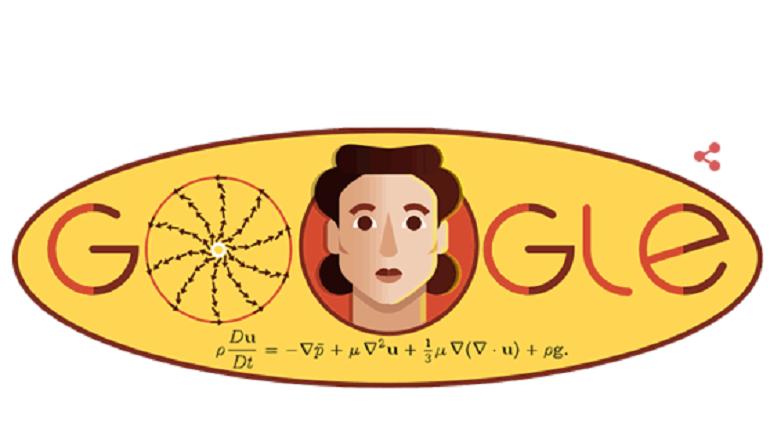 Google празднует 97-летие Ладыженской дудлом с формулой