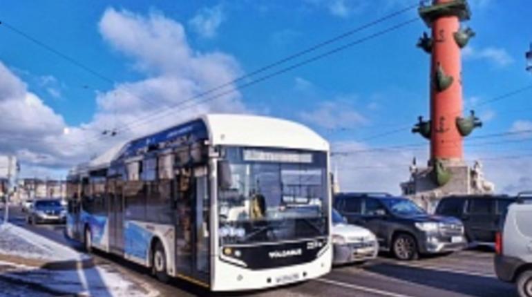 Электробусы начали обкатку в Петербурге. Фото: www.avtobus.spb.ru