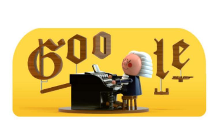 Google посвятил новый дудл Баху