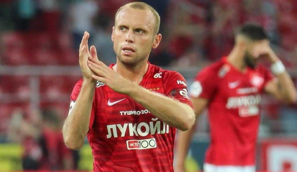 В матче с «Ахматом» Глушаков показал жест болельщикам