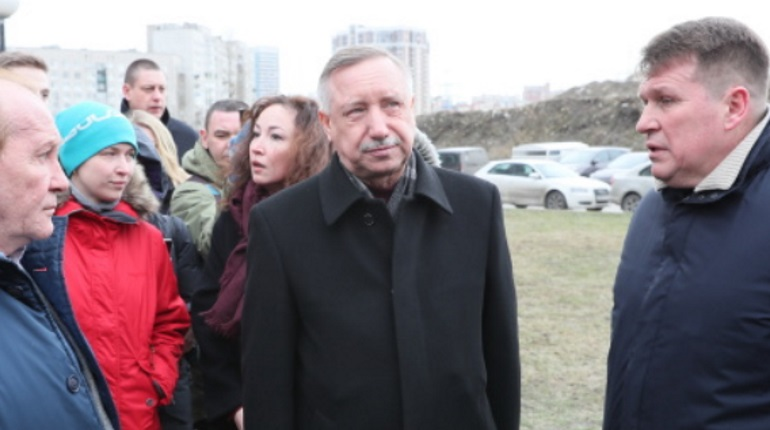 Врио губернатора Петербурга Александр Беглов. Фото: gov.spb.ru