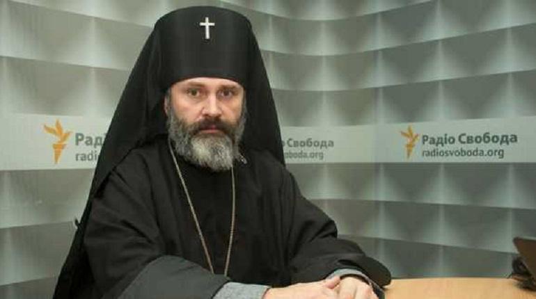 Архиепископ Климент задержан в Симферополе за мелкое хулиганство. Фото: Facebook.com