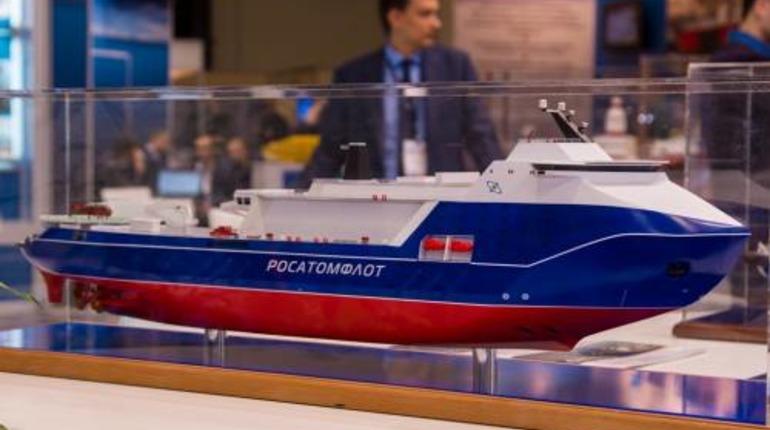 В Петербурге тестируют модель самого мощного в мире ледокола «Лидер»