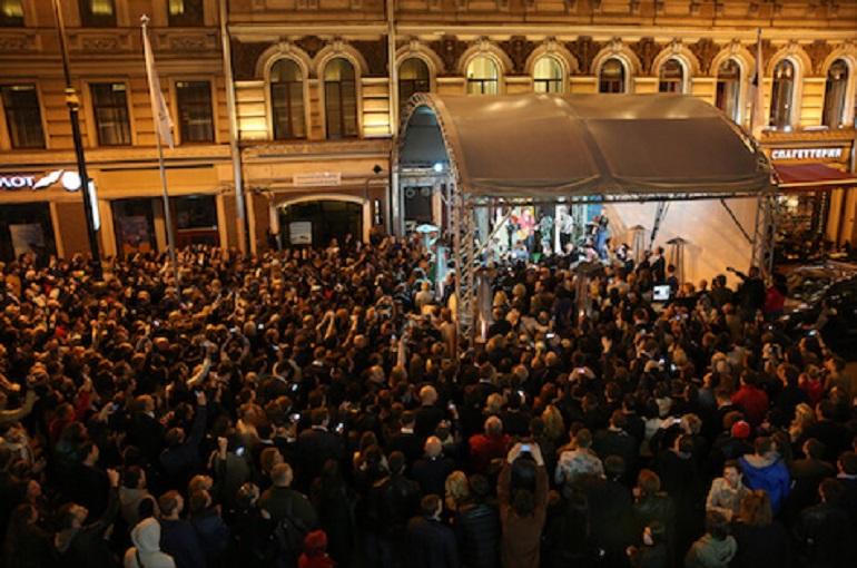 Концерты на Legal Street на улице Рубинштейна. Фото: spblegalforum.ru