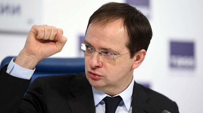 Министр культуры Владимир Мединский. Фото: Facebook.com