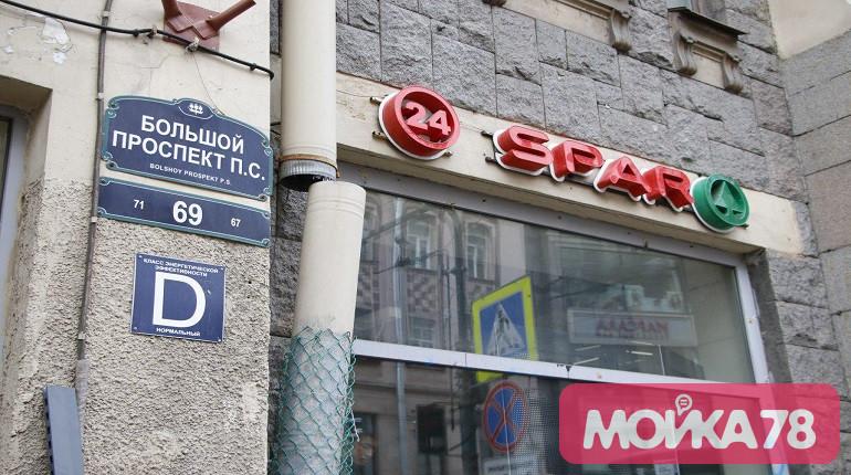 Суд арестовал имущество «Интерторга», пока петербуржцы громили Spar