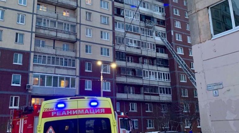Пожар на Шлиссельбургском, 2. Фото: vk.com/public31967057