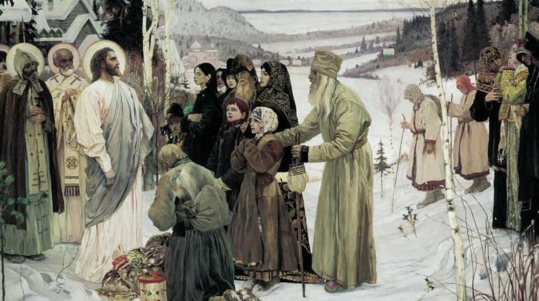 Русский музей начинает реставрацию картины Нестерова «Святая Русь»