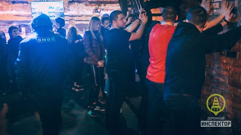 ОМОН наведался в клубы в центре Петербурга в поисках