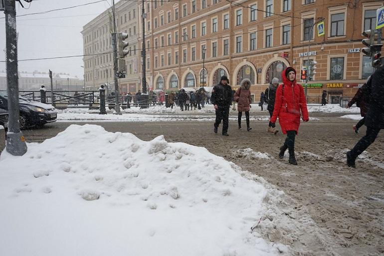 Петербургу обещают короткую зиму