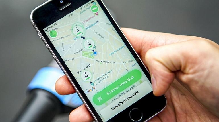 В России запускается европейский агрегатор такси Bolt. Фото: Bolt