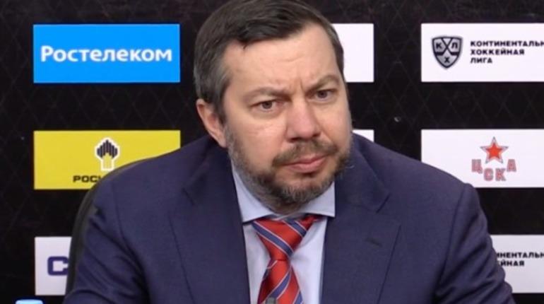 Воробьев объяснил поражение СКА в матче с ЦСКА
