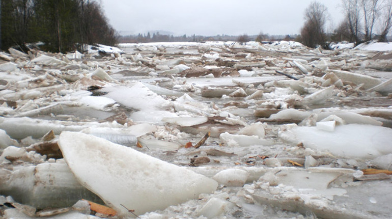 Лед в Ленобласти начнут бомбить с самолетов