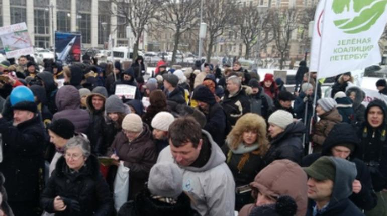На площади Ленина пройдет митинг в защиту парков и скверов