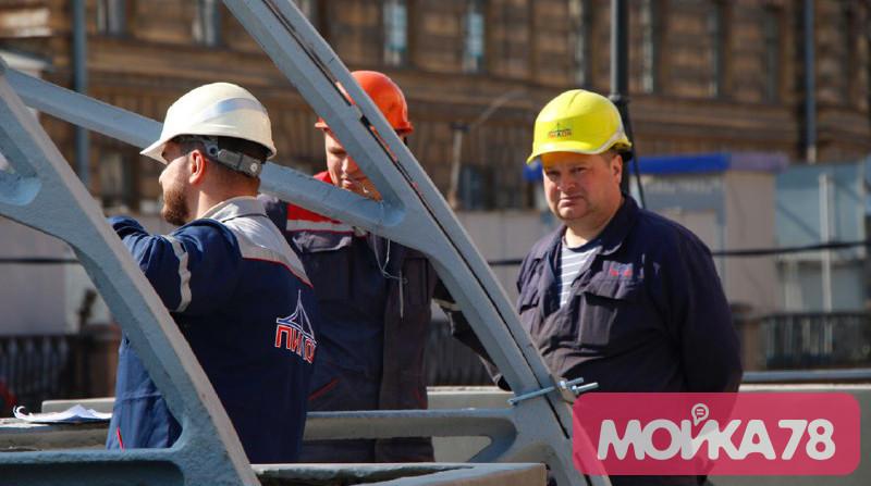 Банковский мост вернулся на канал Грибоедова