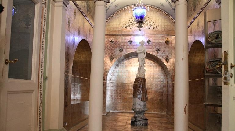 Началась реставрация интерьеров первого этажа дворца Юсуповых